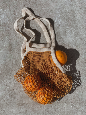 The French Market Bag in Golden - Stitch And Feather