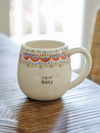 Cup Of Happy Mug - Stitch And Feather