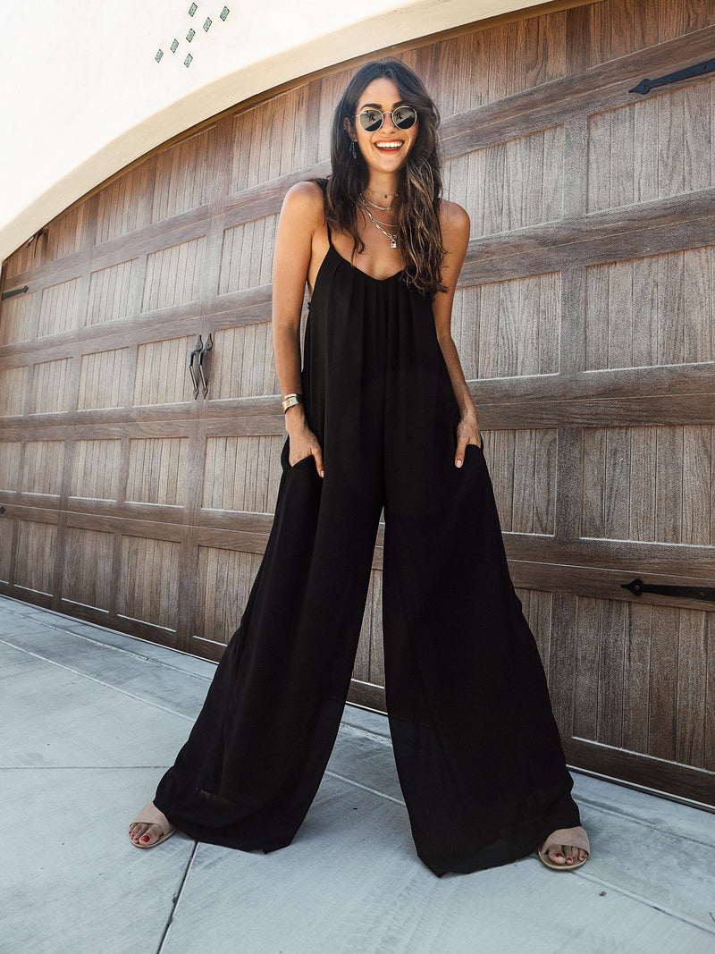 Maya Jumpsuit in Black