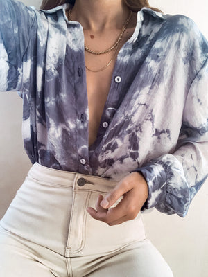 Cloud Nine Button Down - Stitch And Feather