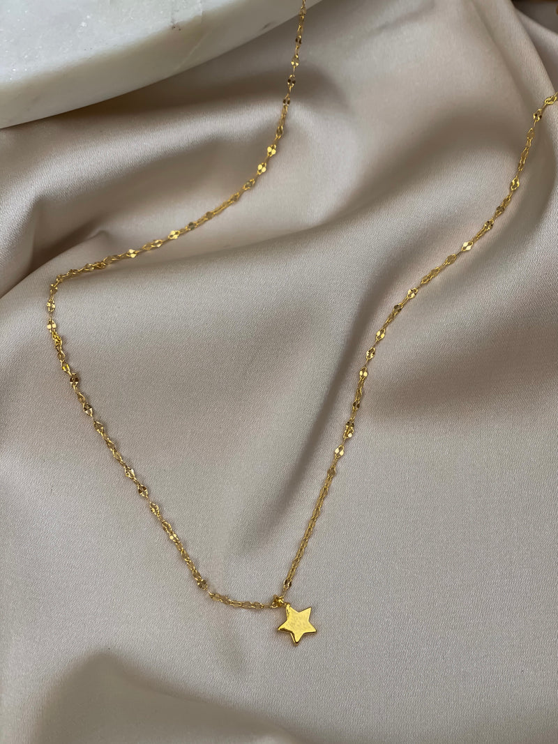 Star Charm Necklace - Stitch And Feather