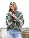 Sage PomPom Sweater - Stitch And Feather