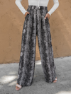 Snake Wide Leg Pants - Stitch And Feather