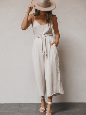 Cara Jumpsuit - Stitch And Feather