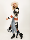 Along the Horizon Duster Cardigan - Stitch And Feather