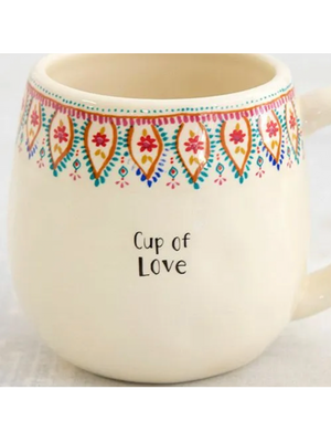 Cup Of Love Mug - Stitch And Feather