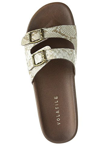Luana Sandal - Stitch And Feather