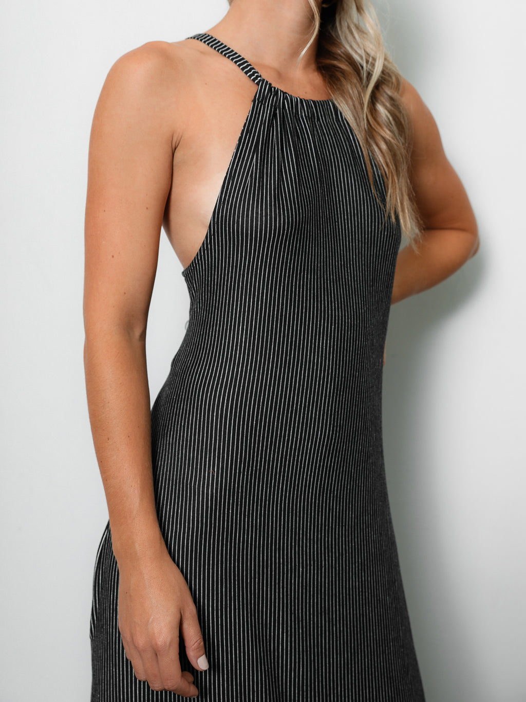 Out At Sea Maxi Dress in Black - Stitch And Feather
