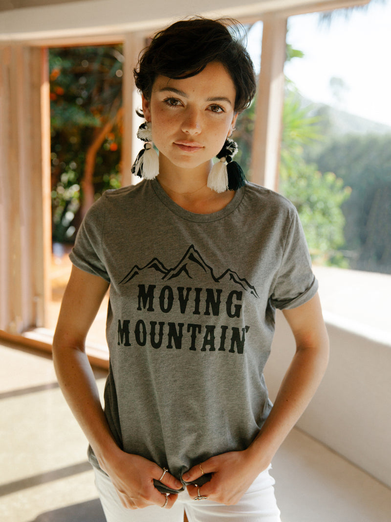 Moving Mountains Tee - Stitch And Feather