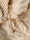 Crescent Chain Necklace - Stitch And Feather