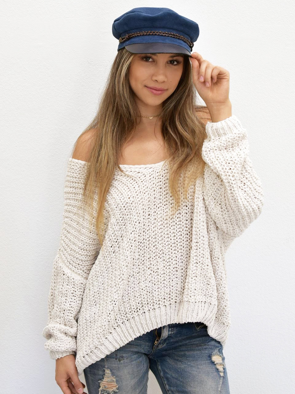 Oh So Chunky Knit Sweater