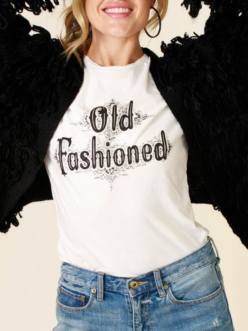 Old Fashion Tee by Bandit Brand - Stitch And Feather