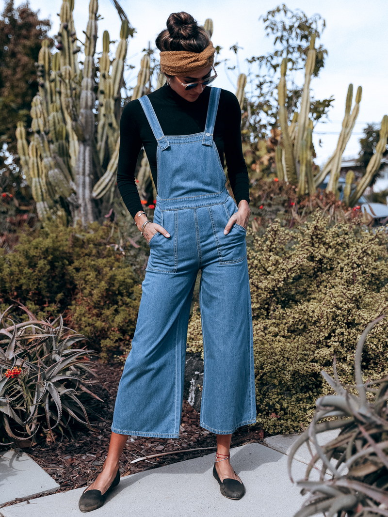 Let's Boogie Overalls - Stitch And Feather
