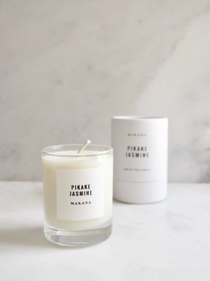 Pikake Jasmine Petite Candle - Stitch And Feather