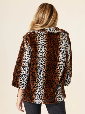 Queens Leopard Coat - Stitch And Feather