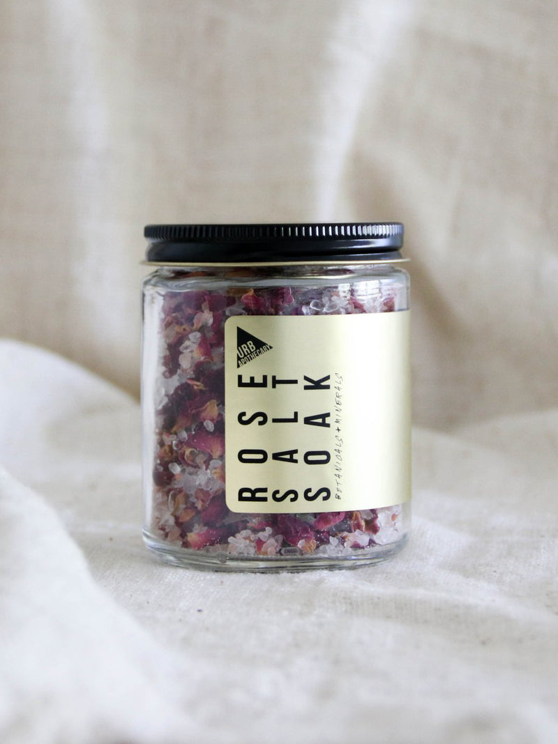 Rose Salt Soak