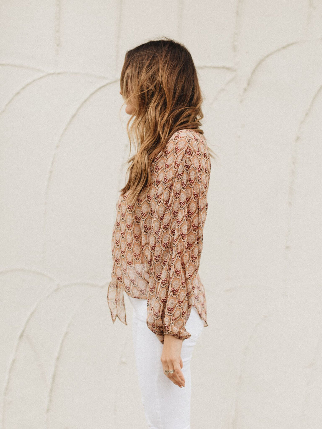 Sheer Sunset Top - Stitch And Feather