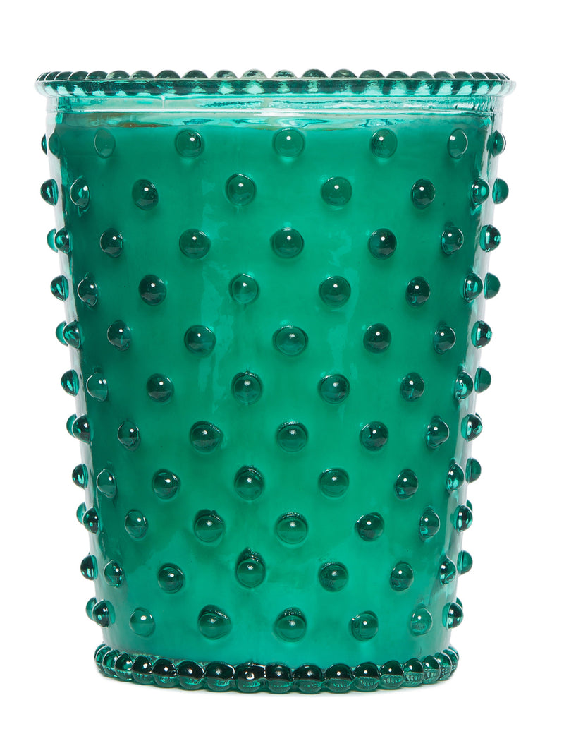 Simpatico Hobnail Glass Candle - Marine -