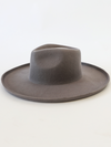 Lenny Felt Panama Hat in Grey - Stitch And Feather