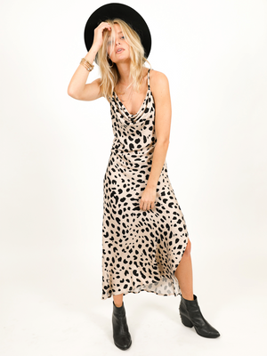 Feline Fine Midi Dress - Stitch And Feather