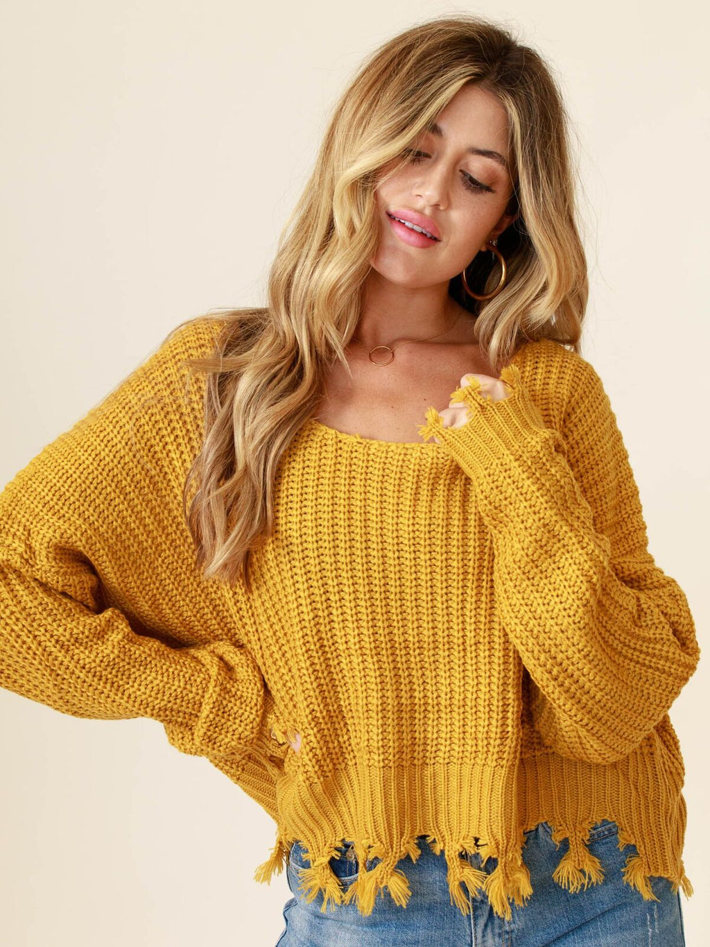 Taste of Honey Sweater