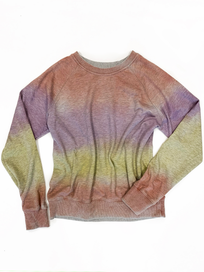 Tie Dye Crew Pullover - Stitch And Feather