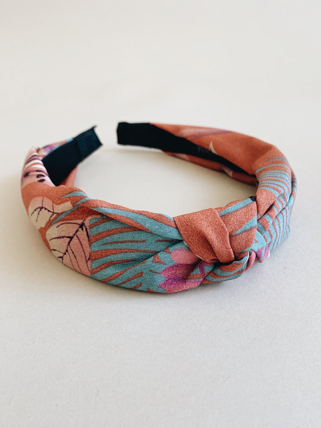 Tropical Headband in Rust - Stitch And Feather