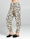 Leopard Terry Pants - Stitch And Feather