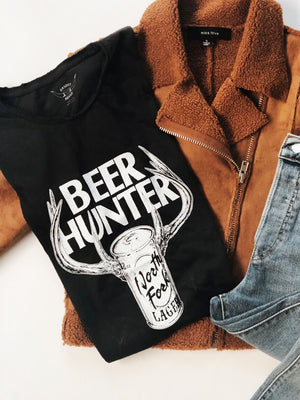 Beer Hunter Tee by Bandit Brand - Stitch And Feather