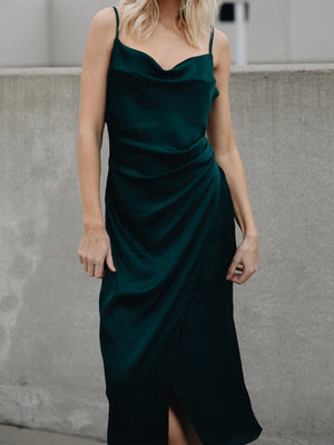 Emerald Bay Slip Dress - Stitch And Feather