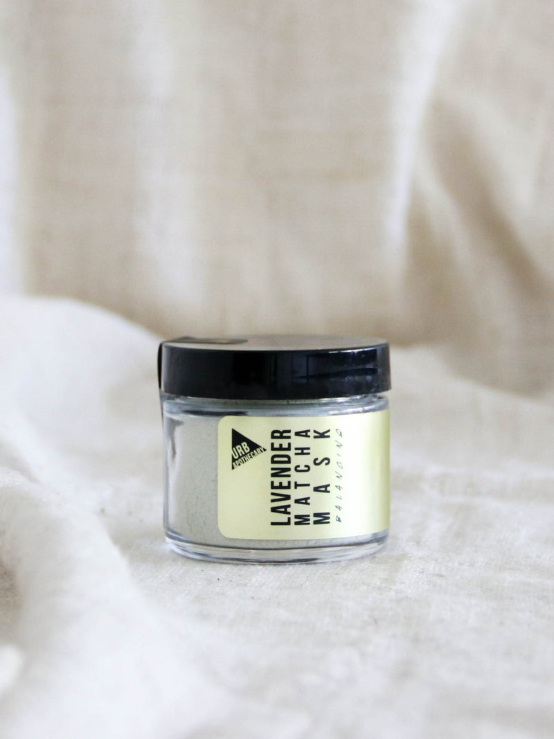 Lavender Matcha Clay Mask - Stitch And Feather