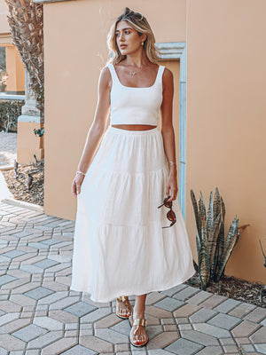 Praire Maxi Skirt - Stitch And Feather