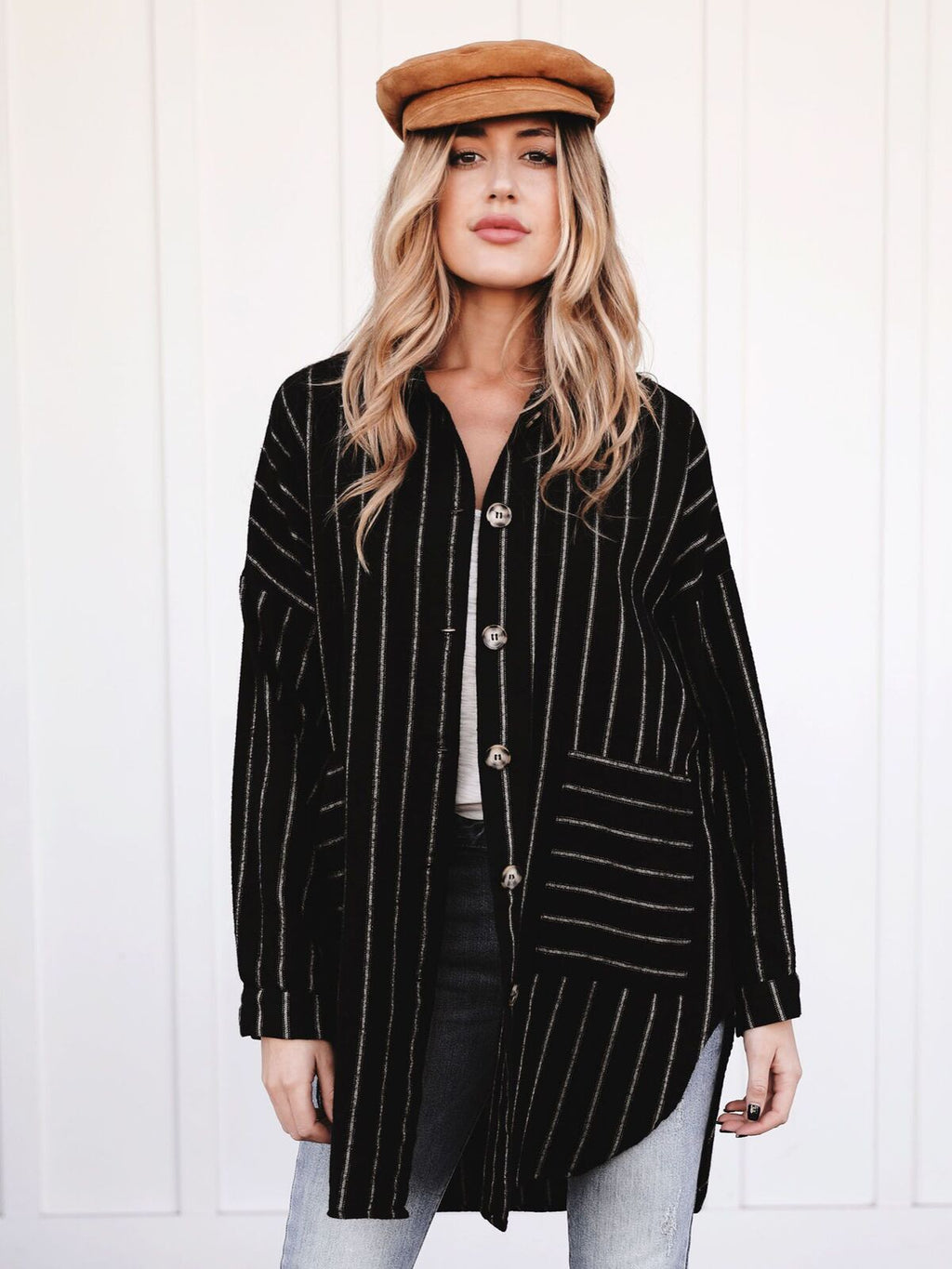 Weekday to Weekend Blazer Tunic