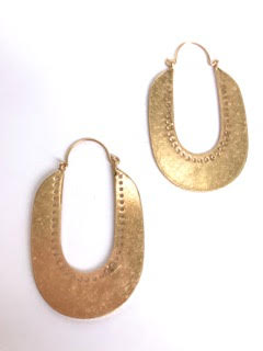 West Loop Earring - Stitch And Feather