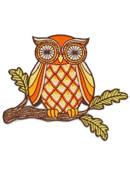 Wise Owl Patch