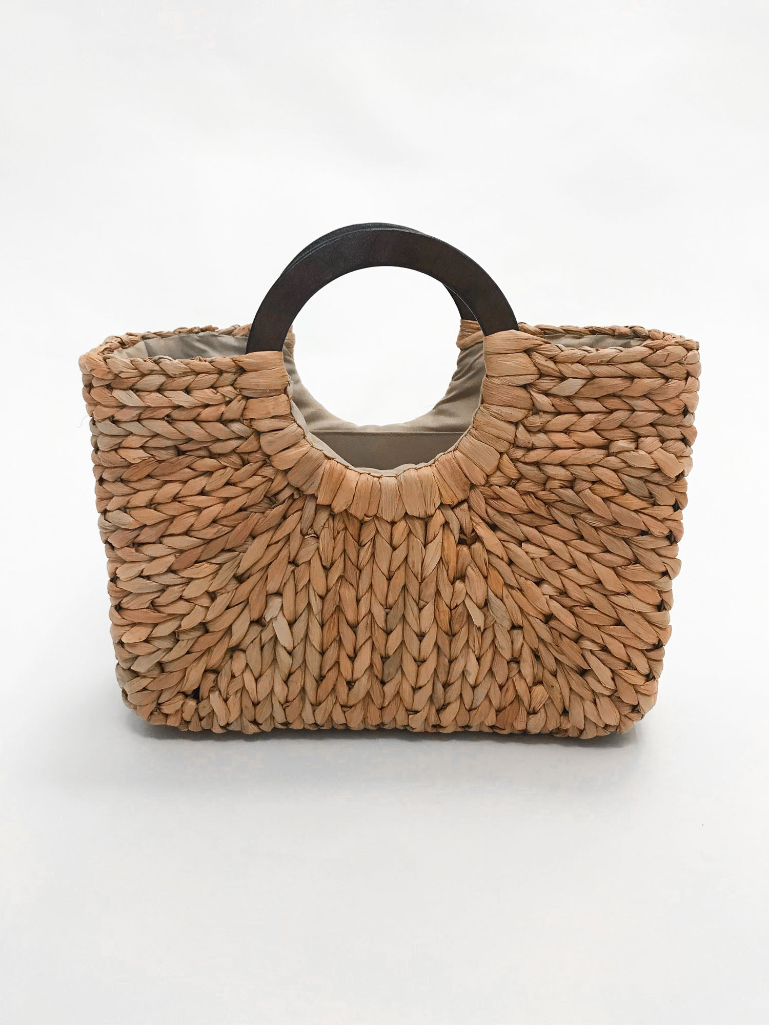 Woven Statement Bag