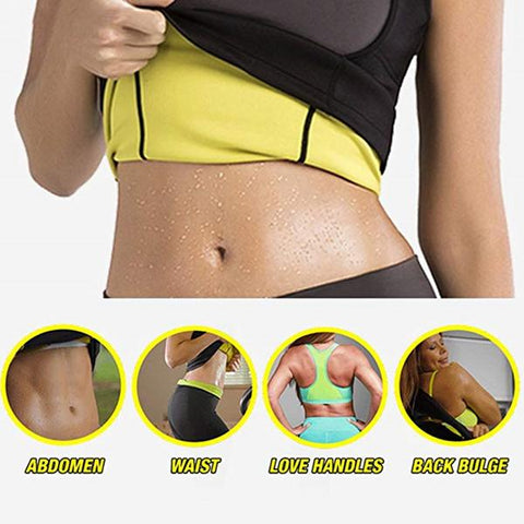 Waist trainer corset vest tone stomach abs slim curves weight loss neoprene cincher
