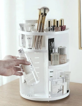 organiser organizer makeup foundation creams cosmetics brushes