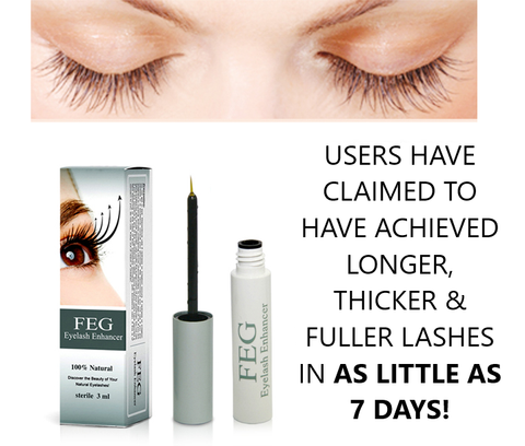 eye lash enhancer fuller thicker longer lashes serum