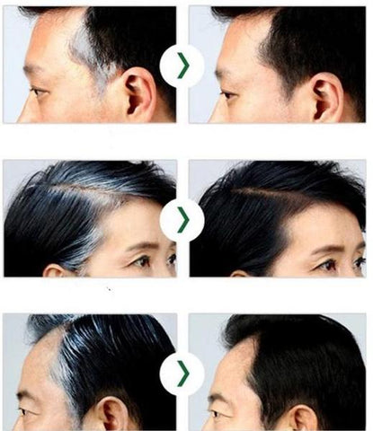 style makeup shadow make up filler coloring colour gray hair greys roots thinning hair hairline