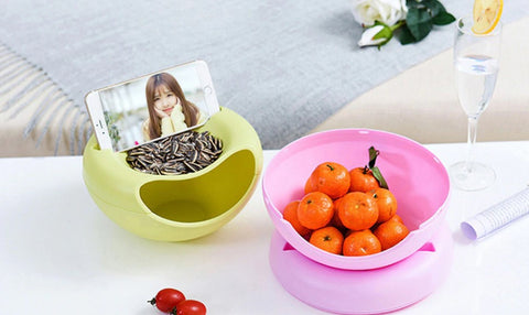 snack bowl convenient netflix chill relax food container cool innovative