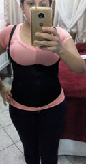 Waist trainer corset vest tone stomach abs slim curves weight loss