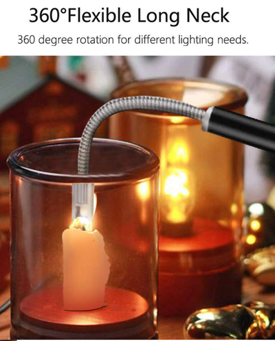 Premium Rechargeable Arc Lighter - No More Oil!
