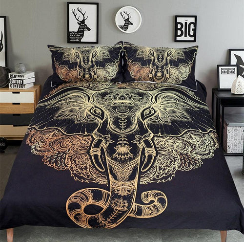 Mystic Elephant Bedding - Craftted
