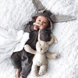 Cute Baby Bunny Jumpsuit