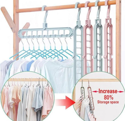 Magical Space Saving Hangers - Organise Your Wardrobe! - Craftted