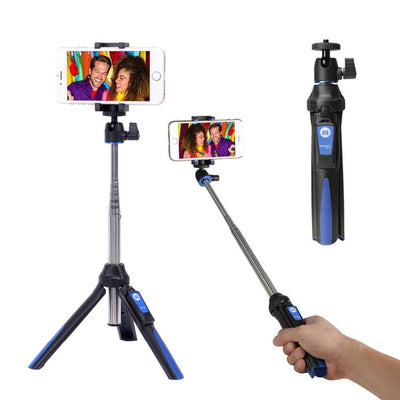 3-in-1 Mini Tripod, Selfie Stick & Monopod - Craftted