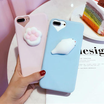 3D Kitty Phone Case-3D Kitty Phone Case-Craftted