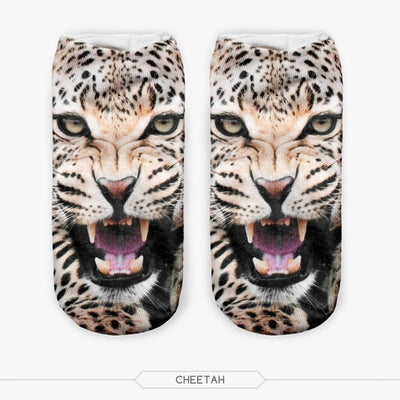 3D Wild Animal Socks Collection - Craftted