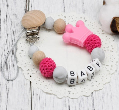 Personalised Silicone Pacifier - Craftted